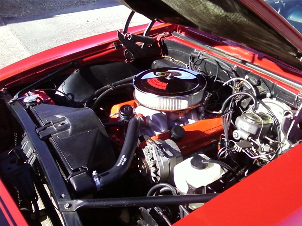 1968 CHEVROLET CAMARO RS CUSTOM 2 DOOR COUPE - Engine - 157612