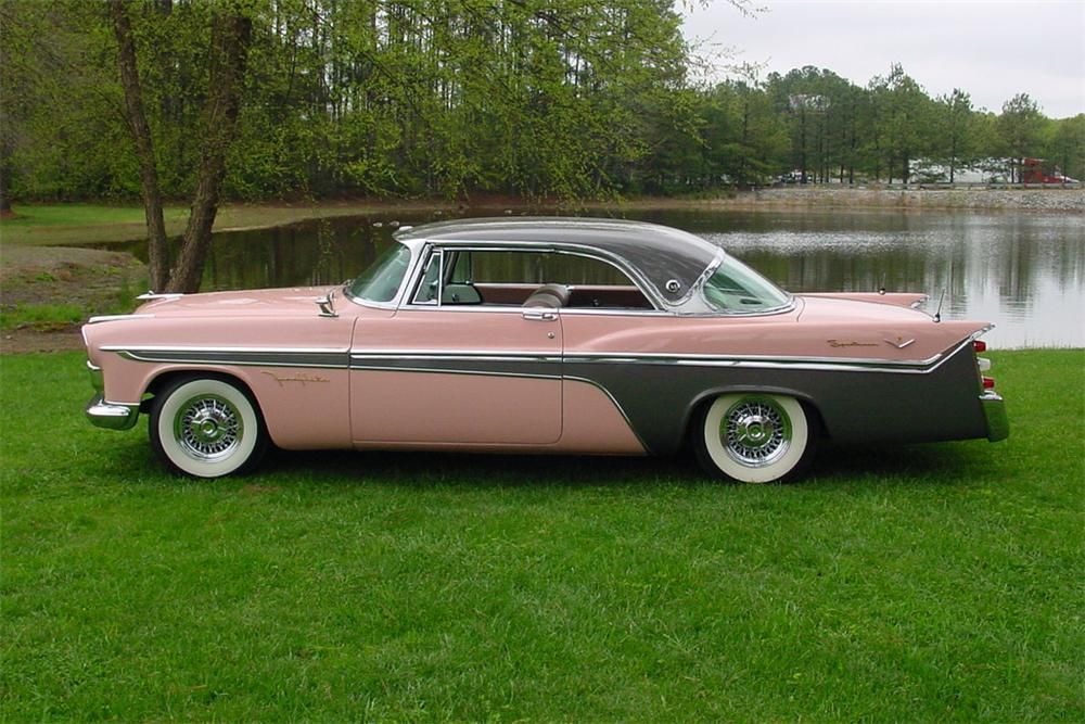 1956 DESOTO FIREFLITE SPORTSMAN 2 DOOR HARDTOP - Side Profile - 157619