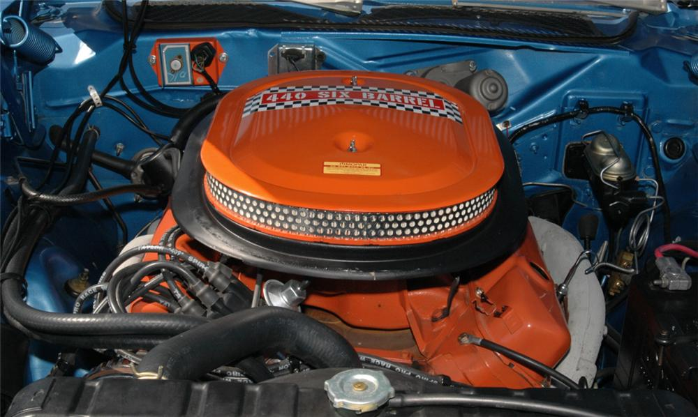 1971 PLYMOUTH GTX COUPE - Engine - 15762