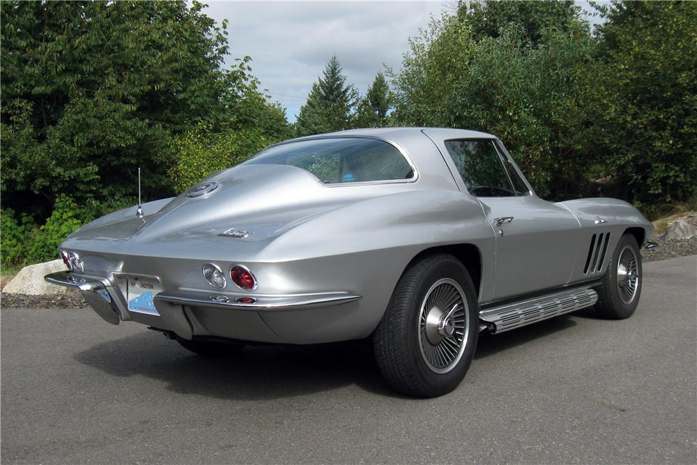 1966 CHEVROLET CORVETTE 2 DOOR COUPE - Rear 3/4 - 157621