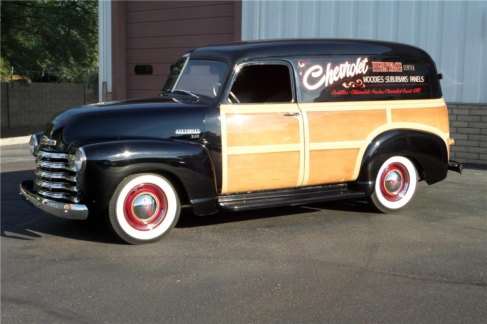 1953 CHEVROLET PANEL TRUCK - Side Profile - 157622