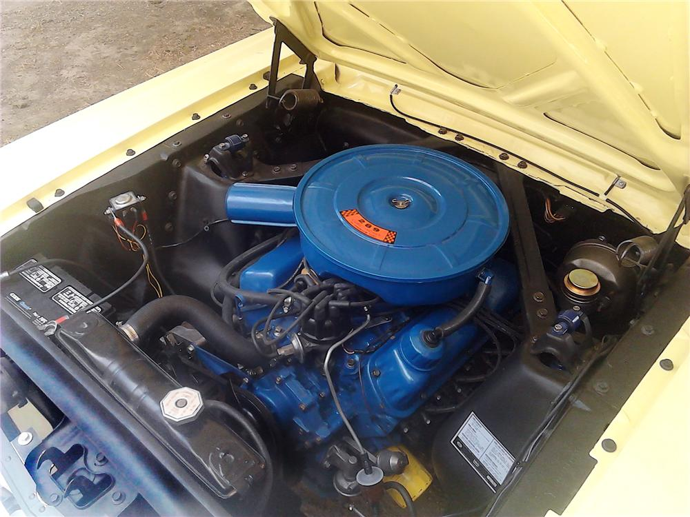 1966 FORD MUSTANG 2 DOOR HARDTOP - Engine - 157626
