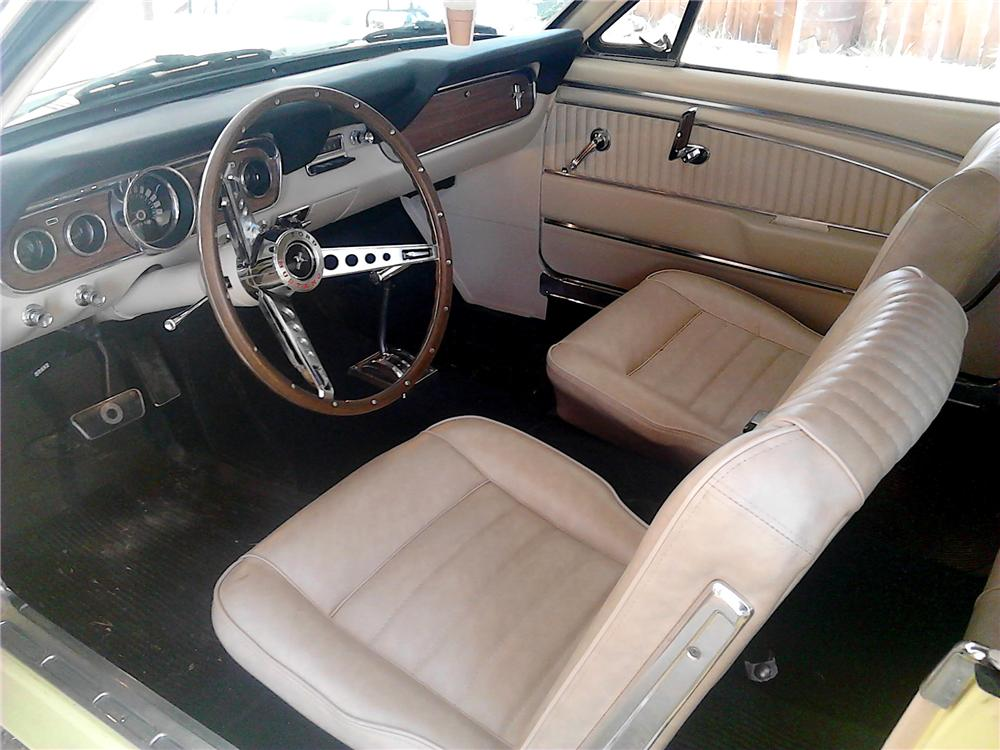 1966 FORD MUSTANG 2 DOOR HARDTOP - Interior - 157626
