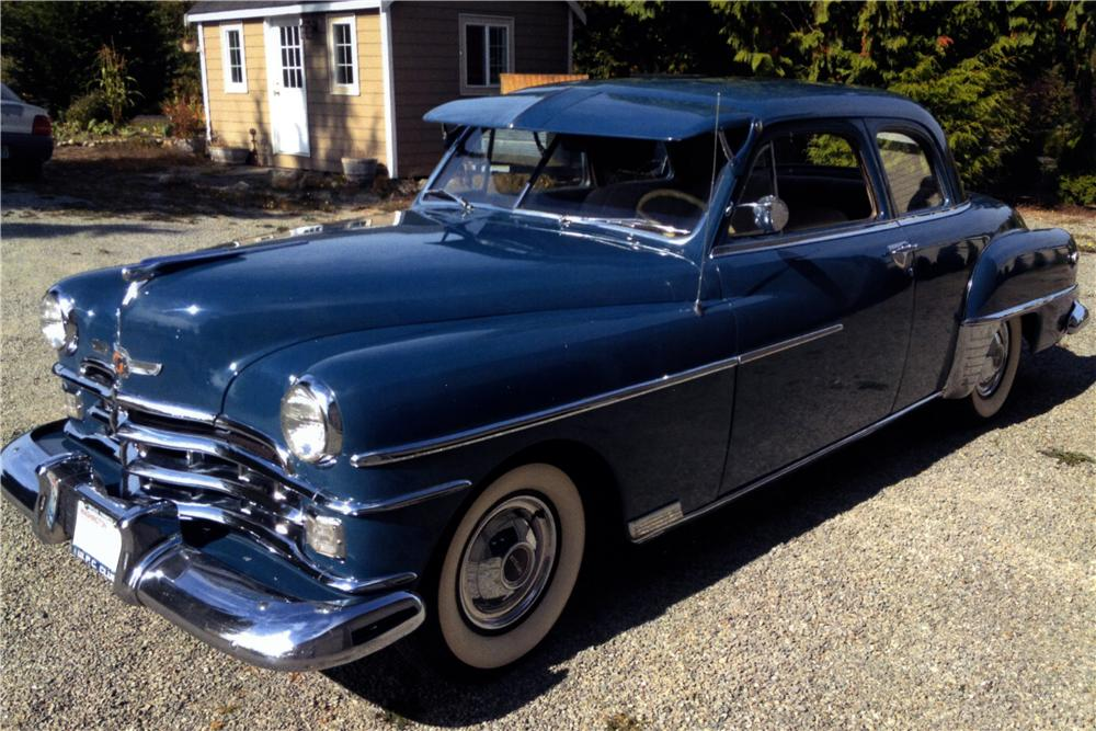 1950 CHRYSLER ROYAL 2 DOOR COUPE - Front 3/4 - 157627