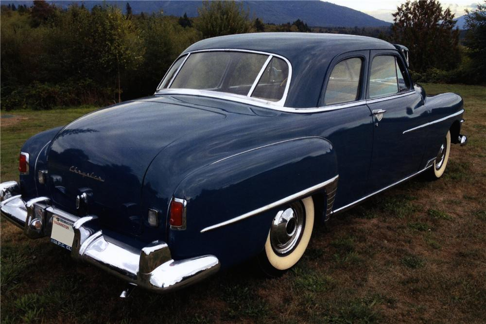 1950 CHRYSLER ROYAL 2 DOOR COUPE - Rear 3/4 - 157627