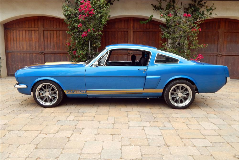 1966 FORD MUSTANG CUSTOM FASTBACK - 157630