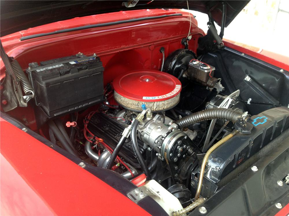 1957 CHEVROLET 3100 CUSTOM PICKUP - Engine - 157636