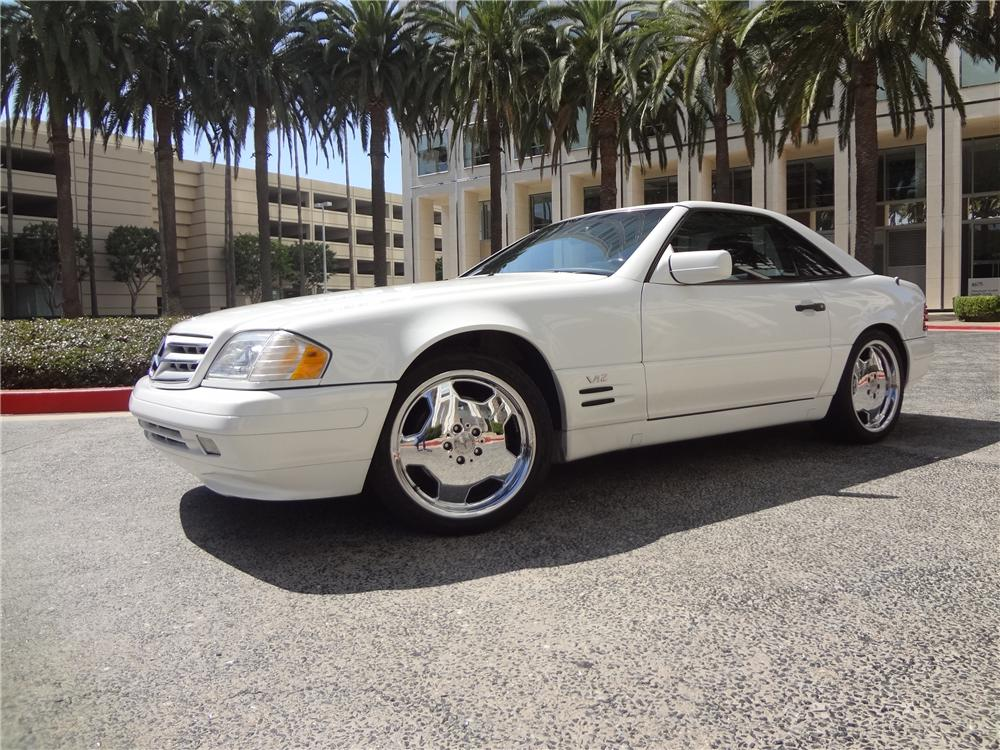 1997 MERCEDES-BENZ SL600 CONVERTIBLE - Front 3/4 - 157639