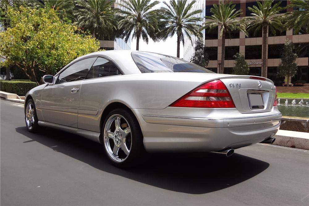 2001 mercedes benz cl55 amg 2 door coupe 157641 for Mercedes benz cl55 amg for sale
