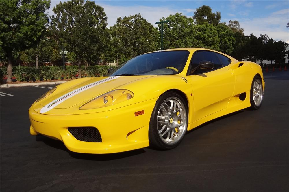 2004 FERRARI 360 CHALLENGE STRADALE 2 DOOR COUPE - Side Profile - 157646