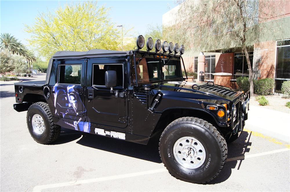 1996 HUMMER H1 STAR WARS CONVERTIBLE SUV - Side Profile - 157647