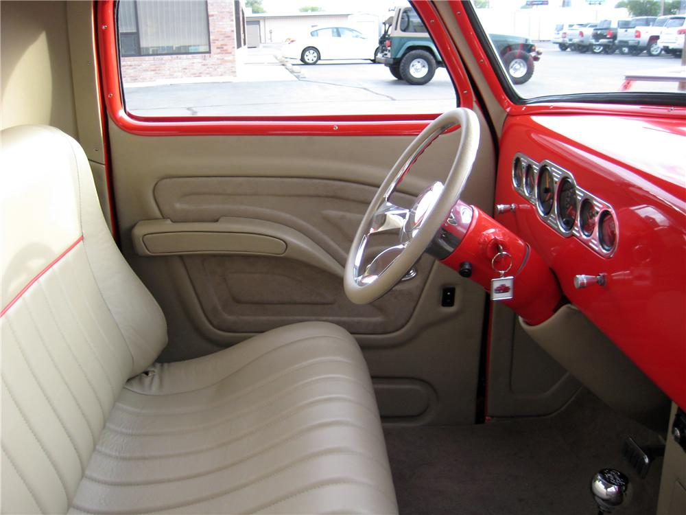 1950 CHEVROLET 3100 CUSTOM PICKUP - Interior - 157648