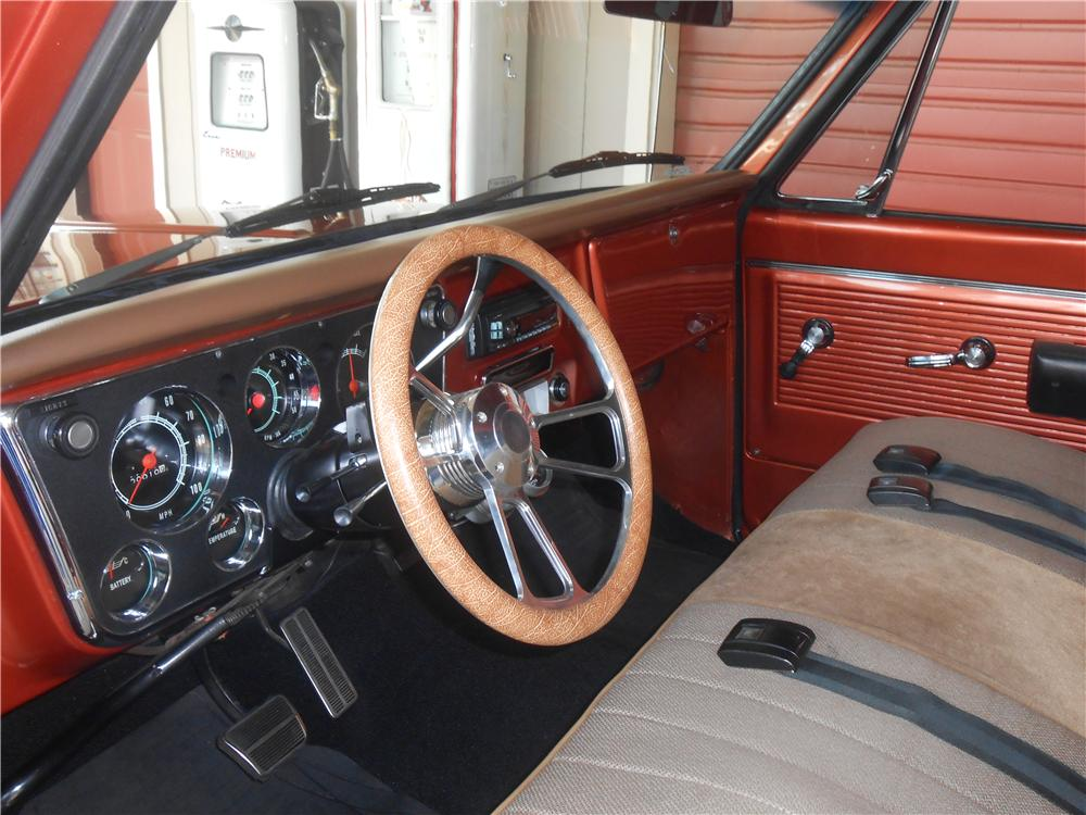 1968 CHEVROLET C-10 CUSTOM PICKUP - Interior - 157649