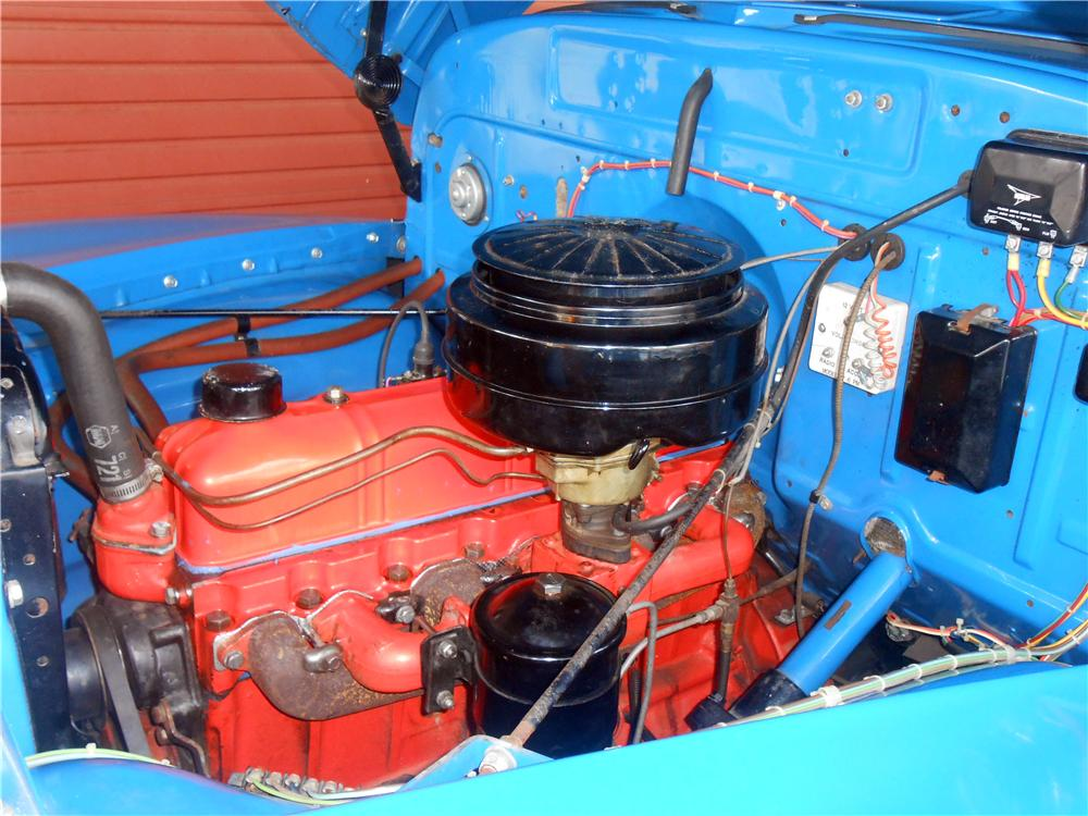 1950 CHEVROLET 3100 PICKUP - Engine - 157651