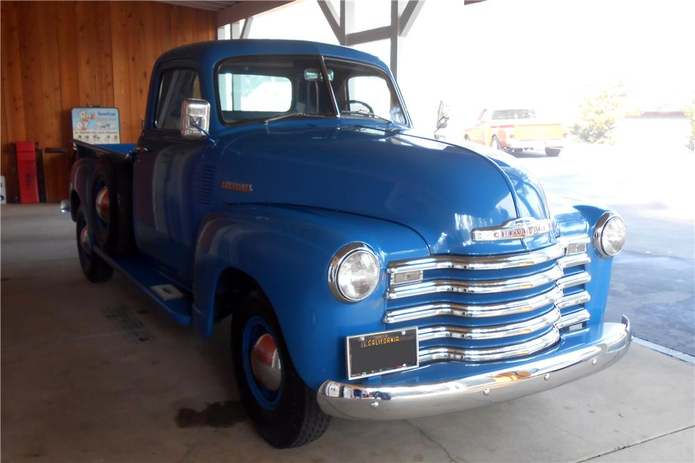 1950 CHEVROLET 3100 PICKUP - Front 3/4 - 157651