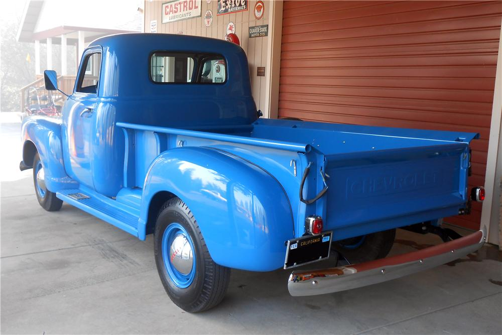 1950 CHEVROLET 3100 PICKUP - Rear 3/4 - 157651