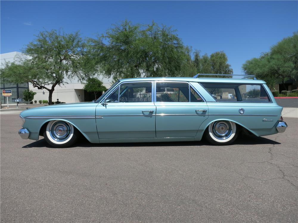 1963 AMC RAMBLER CLASSIC CUSTOM STATION WAGON - Side Profile - 157655