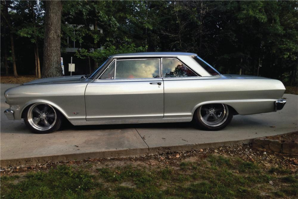 1963 Chevrolet Nova Custom 2 Door Coupe 157657