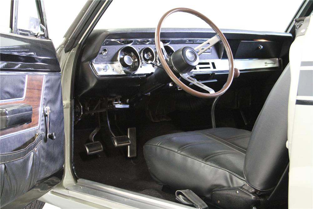 1969 PLYMOUTH BARRACUDA FORMULA S FASTBACK - Interior - 157662