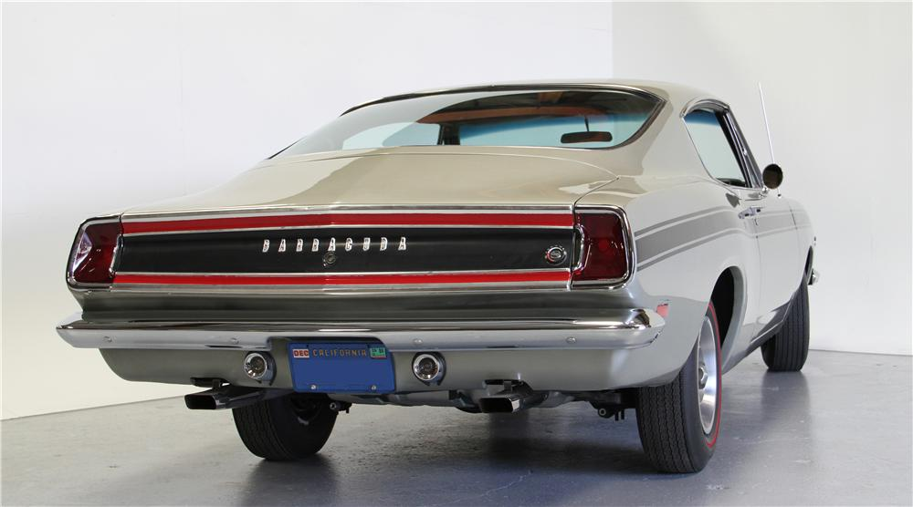 1969 PLYMOUTH BARRACUDA FORMULA S FASTBACK - Rear 3/4 - 157662