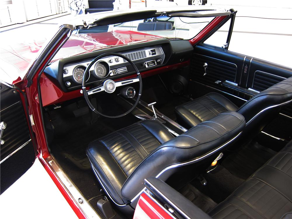 1966 OLDSMOBILE CUTLASS CONVERTIBLE - Interior - 157663