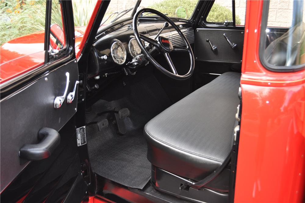 1951 GMC 1/2 TON PICKUP - Interior - 157665