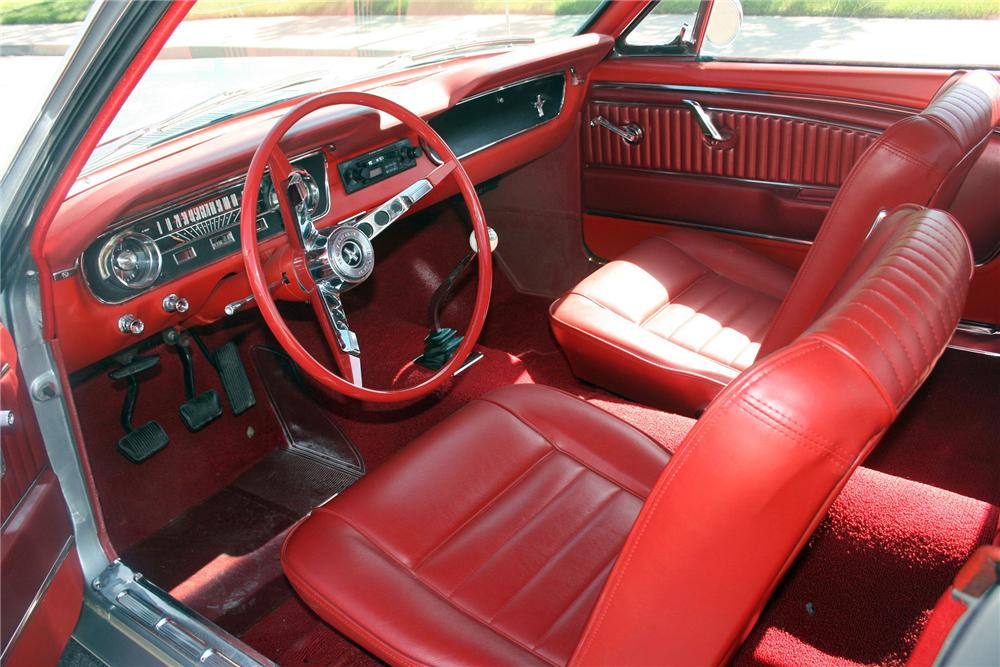 1965 FORD MUSTANG 2 DOOR COUPE - Interior - 157667