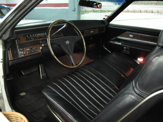1970 CADILLAC ELDORADO 2 DOOR COUPE - Interior - 157668