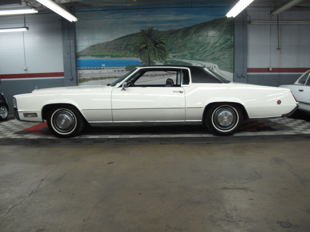 1970 CADILLAC ELDORADO 2 DOOR COUPE - Side Profile - 157668