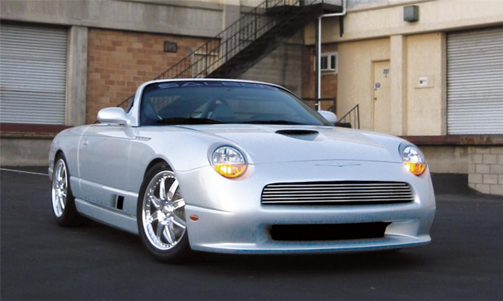 2002 SALEEN BONSPEED THUNDERBIRD CONCEPT CAR - Front 3/4 - 15767