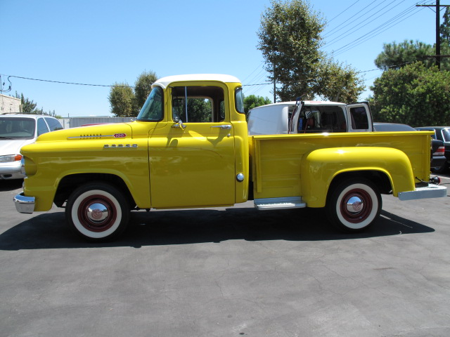 1959 DODGE D-100 PICKUP - Side Profile - 157674