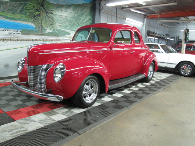 1940 ford deluxe custom 2 door coupe 157677 for 1940 ford two door sedan