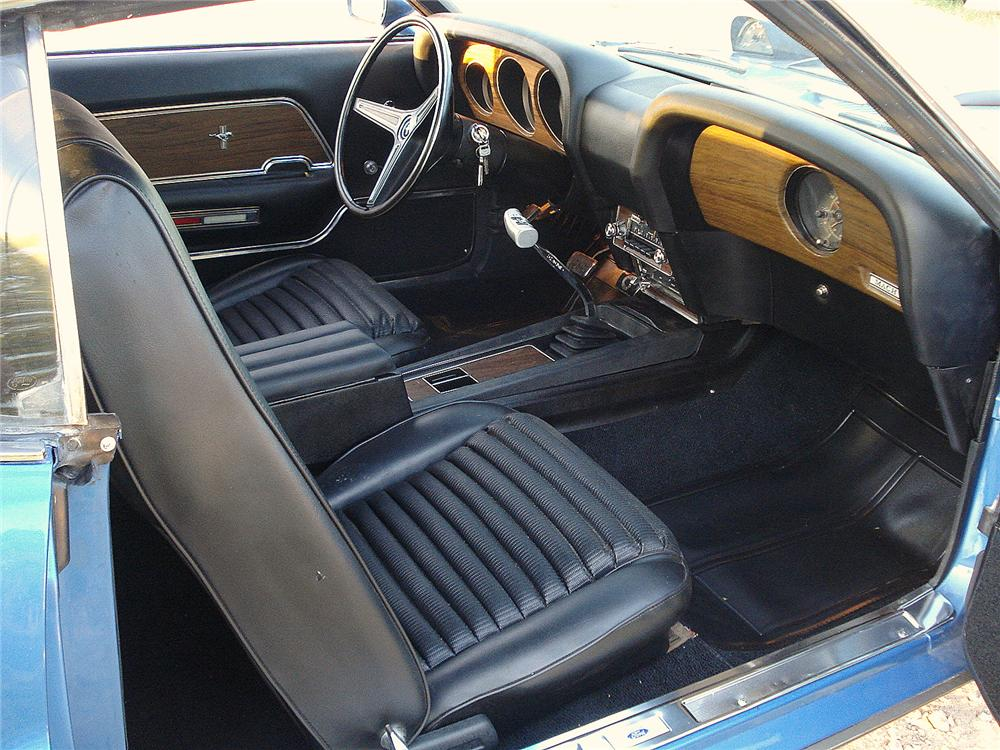 1970 FORD MUSTANG MACH 1 FASTBACK - Interior - 157678