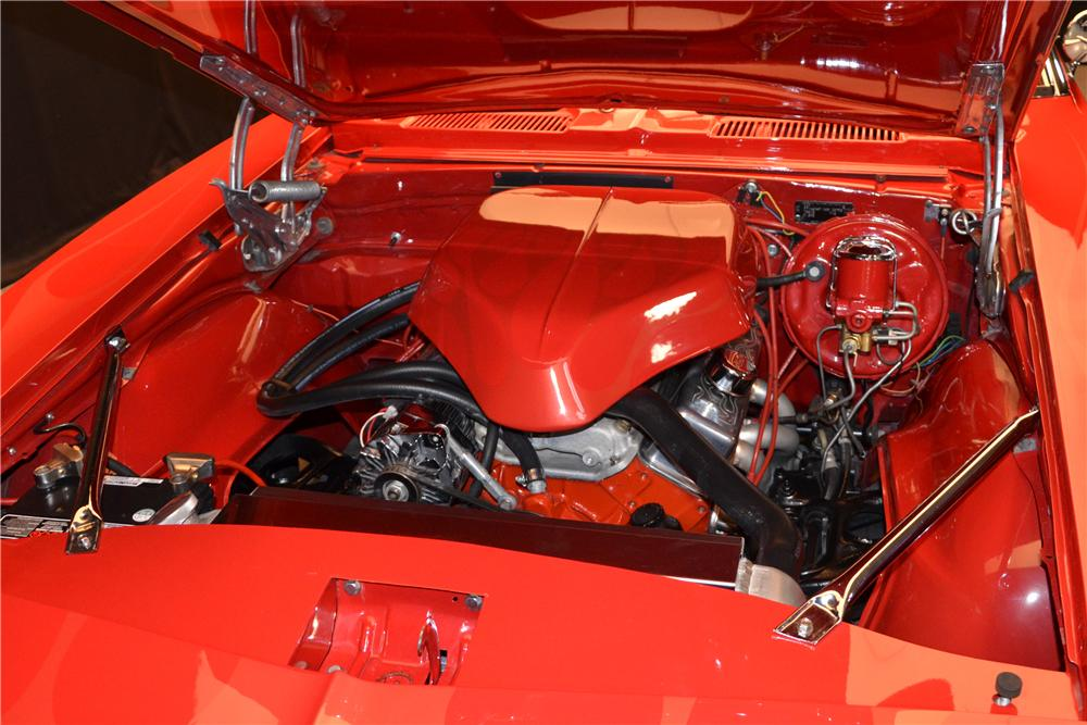 1967 CHEVROLET CAMARO CUSTOM CONVERTIBLE - Engine - 157680