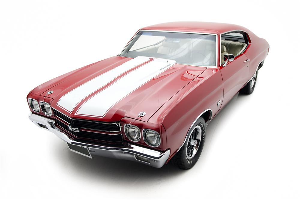 1970 CHEVROLET CHEVELLE SS 2 DOOR COUPE - Front 3/4 - 157684