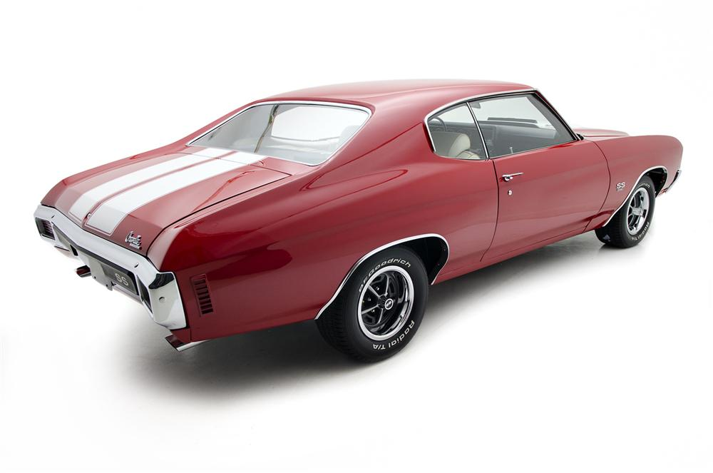 1970 CHEVROLET CHEVELLE SS 2 DOOR COUPE - Rear 3/4 - 157684
