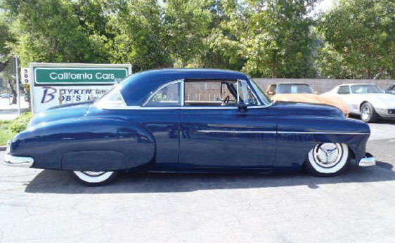 1950 CHEVROLET BEL AIR CUSTOM 2 DOOR HARDTOP - Side Profile - 157686