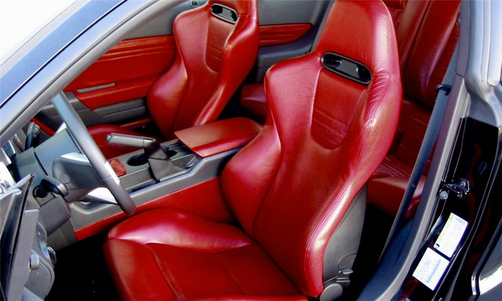 "2005 FORD MUSTANG GT ""BLACK ROSE"" CONCEPT CAR - Interior - 15769"