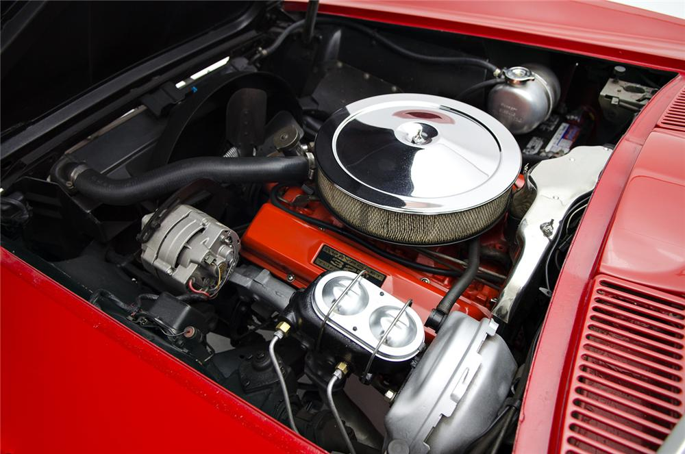 1966 CHEVROLET CORVETTE CONVERTIBLE - Engine - 157691