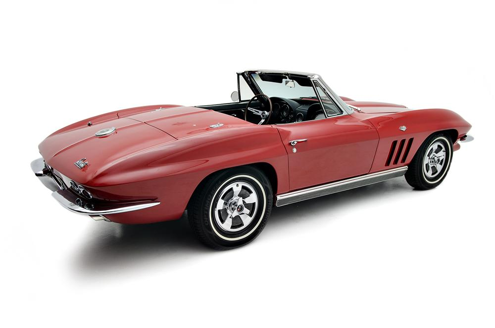 1966 CHEVROLET CORVETTE CONVERTIBLE - Side Profile - 157691