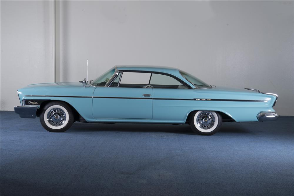 1962 CHRYSLER NEWPORT 2 DOOR COUPE - Side Profile - 157692