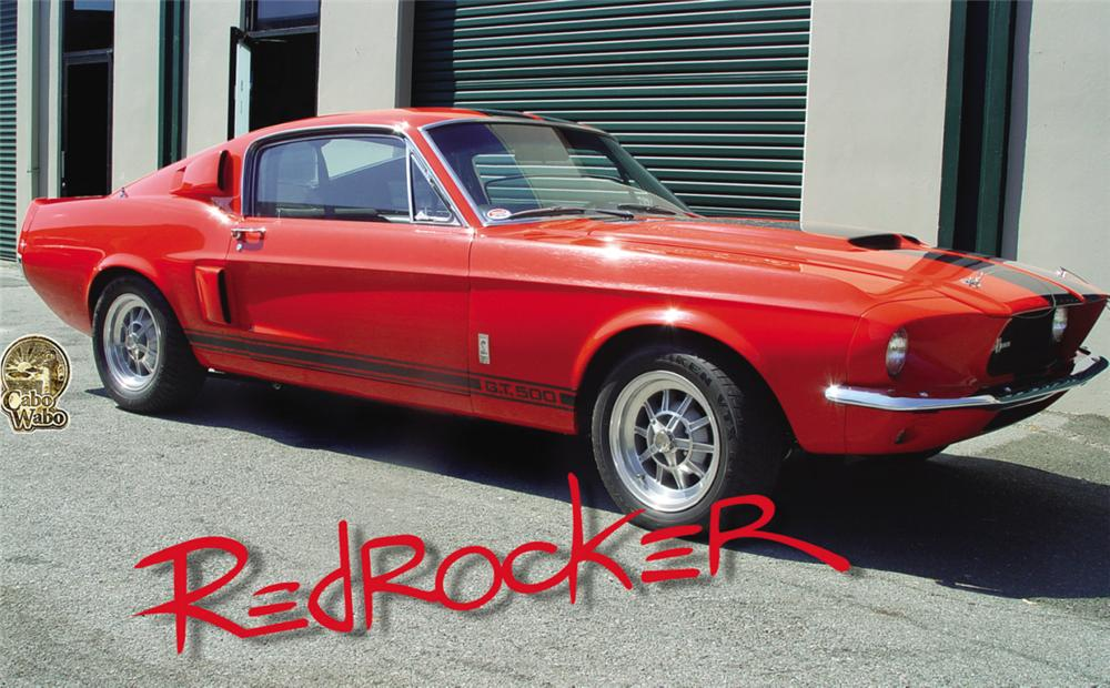 1967 SHELBY GT500 FASTBACK - Front 3/4 - 15770