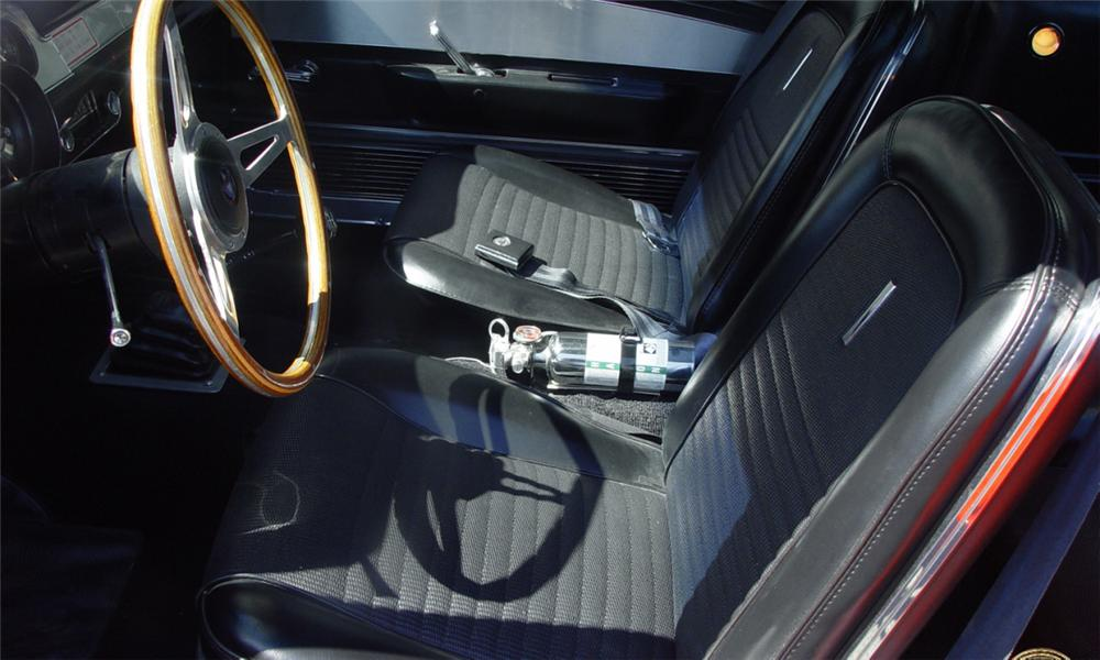 1967 SHELBY GT500 FASTBACK - Interior - 15770