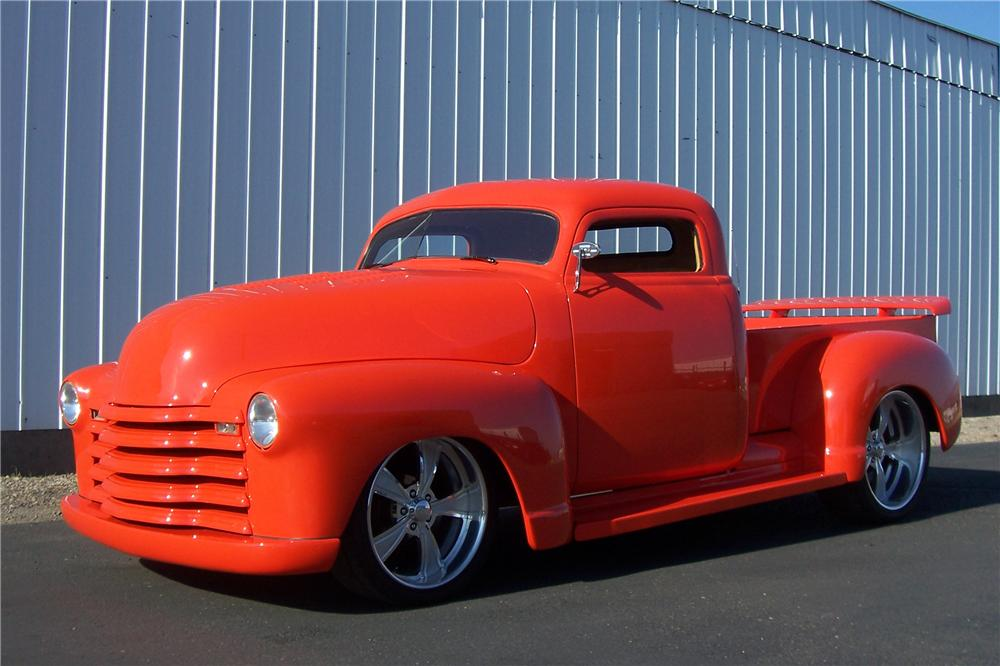 1949 CHEVROLET 3100 CUSTOM PICKUP - Front 3/4 - 157700