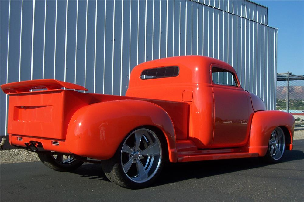 1949 CHEVROLET 3100 CUSTOM PICKUP - Rear 3/4 - 157700