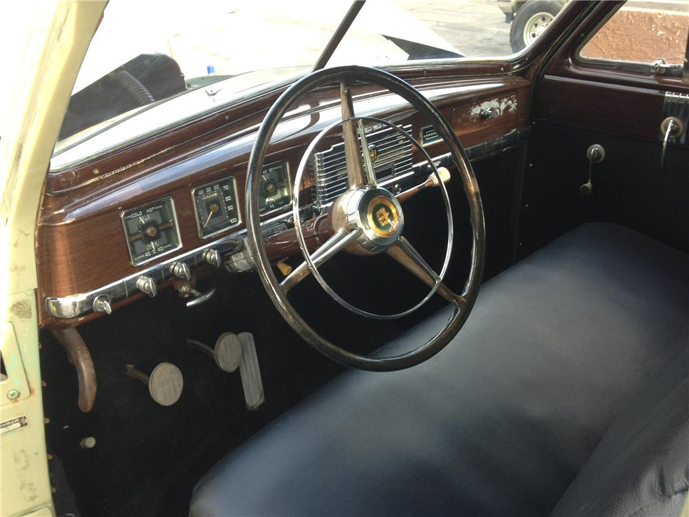 1950 DODGE CORONET 4 DOOR SEDAN - Interior - 157713