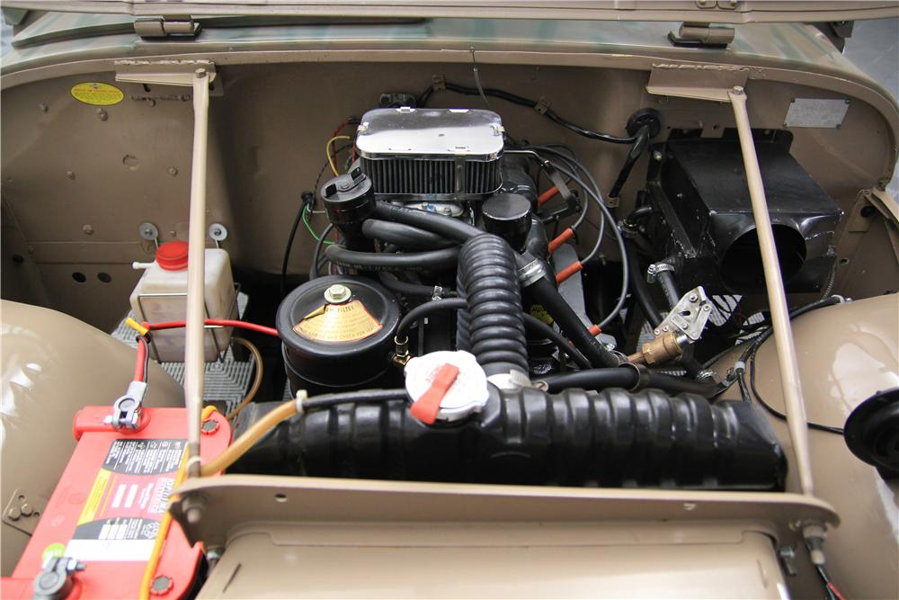 1959 WILLYS CJ5 SUV - Engine - 157714