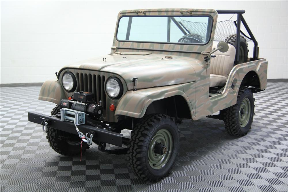 1959 WILLYS CJ5 SUV - Front 3/4 - 157714