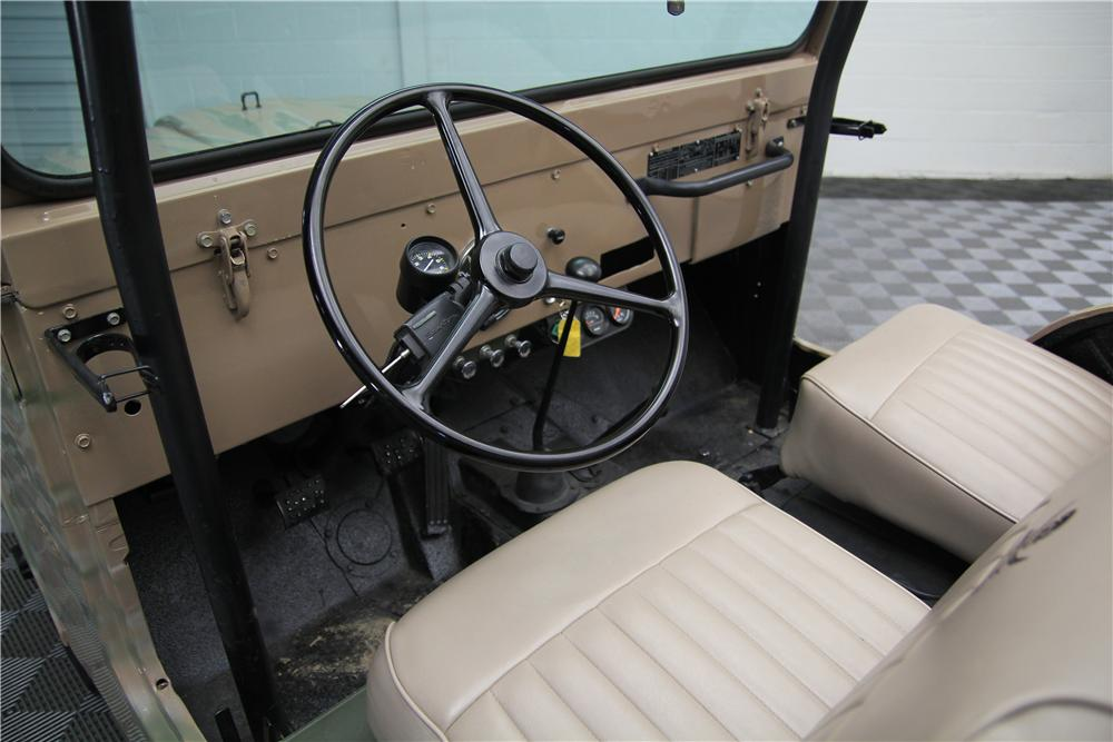 1959 WILLYS CJ5 SUV - Interior - 157714