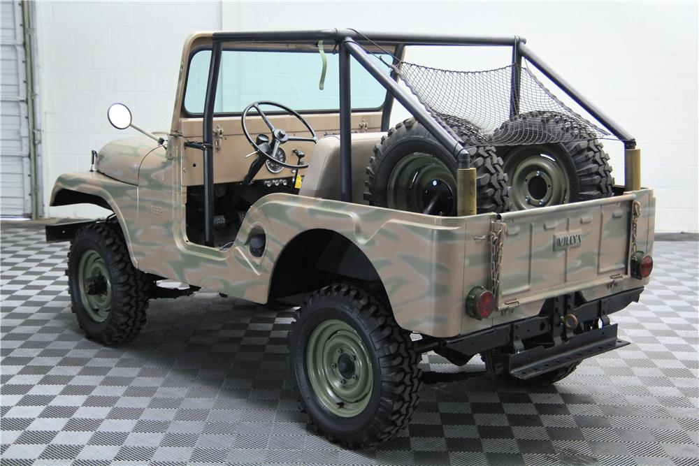 1959 WILLYS CJ5 SUV - Rear 3/4 - 157714